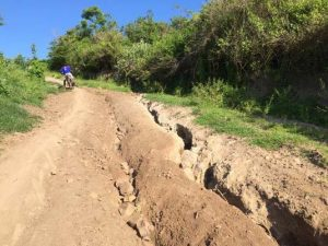 rutted roads in sumbawa